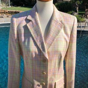 Escada Jackets & Coats - Escada sz 38 /8 summer colors blazer jacket